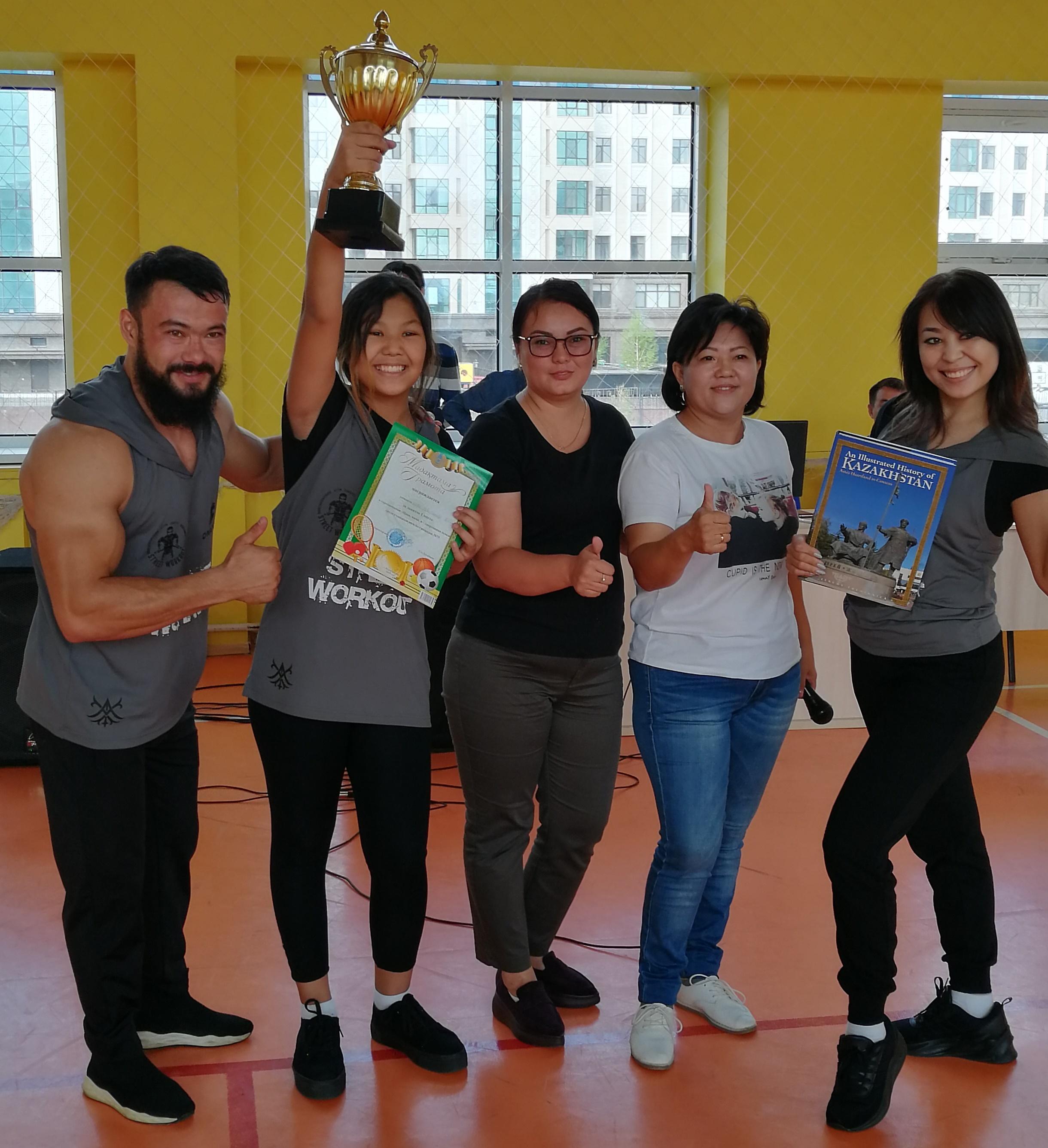 Спорт семья казахстан